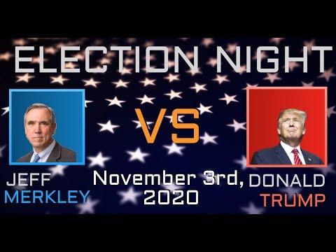 2020 Election Night | Jeff Merkley vs Donald Trump