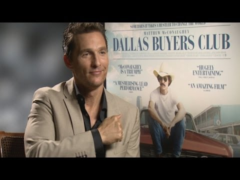 Matthew McConaughey on his chest beating in The Wolf of Wall Street
