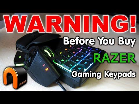 RAZER Gaming Keypads WARNING Before You Buy!!