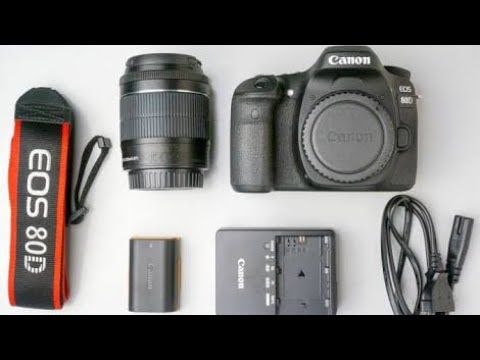 Unboxing/Review of Canon EOS 80D DSLR Camera | Best DSLR at the Best Price !!!