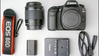Video Unboxing/Review of Canon EOS 80D DSLR Camera | Best DSLR at the Best Price !!! download MP3, 3GP, MP4, WEBM, AVI, FLV November 2018