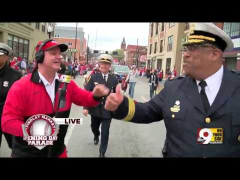 Reds Opening Day Parade 2017