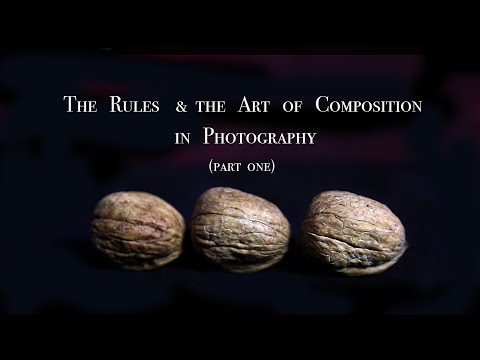 The rules & composition in photography (Part 1) in Arabic