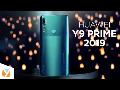 Huawei Y9 Prime 2019 Unboxing and Hands-On