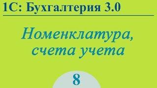 Бухгалтерия 3.0, урок №8 - учет номенклатуры