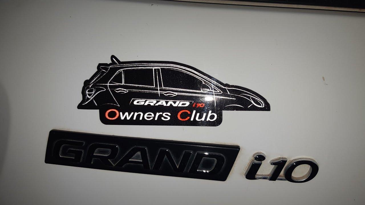 Grand i10 owners club stickers creators co