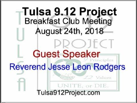 Tulsa 912 Project Breakfast Club Meeting