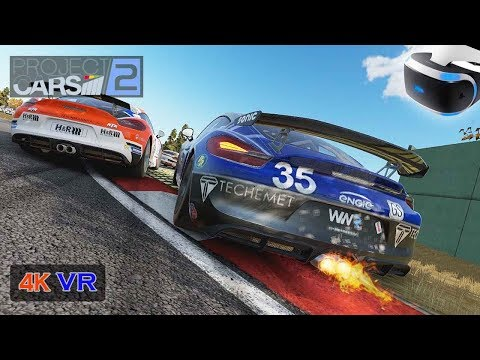 104% Difficulty Project cars 2 [PS VR PC 4K] Onboard Porsche Cayman International Cup FINAL - Imola