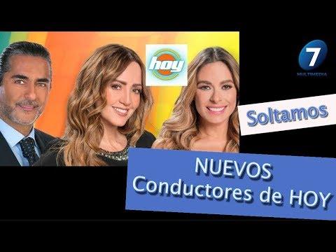 """SOLTAMOS los nuevos CONDUCTORES de """"Hoy"""" / ¡Suéltalo Aquí! Con Angélica Palacios"""