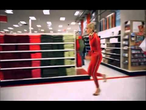 Crazy Target Lady Running 2010 Commercial Youtube