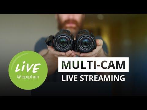 Multi-camera Live Streaming Setups