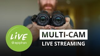 Multi-camera live streaming setups