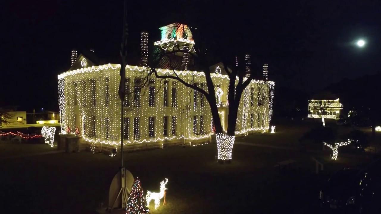 Johnson City, TX Christmas 2016 - YouTube