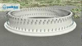 Peikko's Wind Turbine Foundation Concept