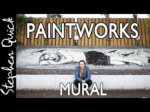 Bristol Street Art // PAINTWORKS MURAL // Stephen Quick Artist
