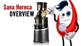 Sana Horeca EUJ-909 Juicer (overview)