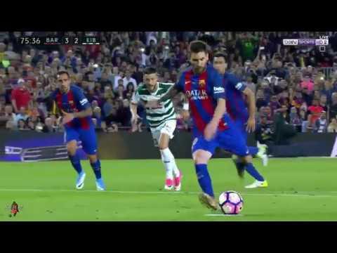 اهداف مباراة برشلونة وايبار 4-2 الدوري الاسباني (شاشة كاملة) الكعبي 21-05-2017-HD