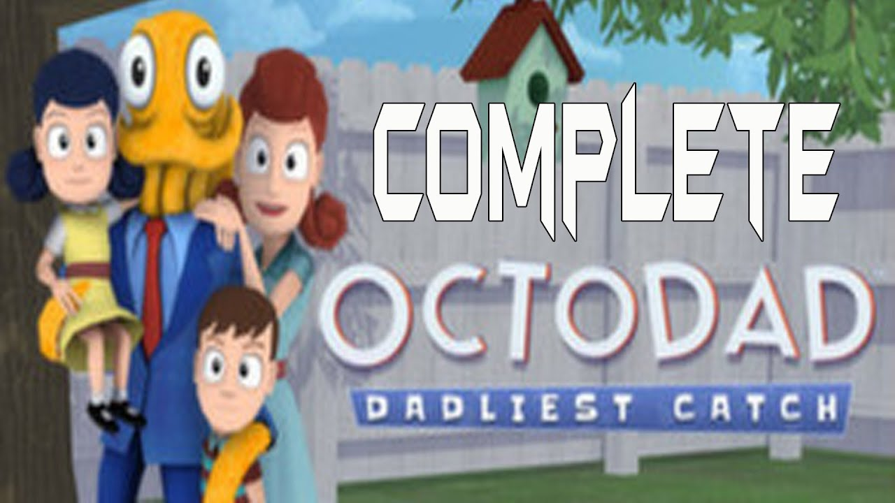 Download Octodad Dadliest Catch Complete Walkthrough Gameplay Lets Play Playthrough