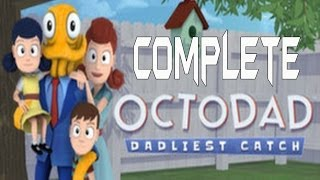 Octodad Dadliest Catch Complete Walkthrough Gameplay Lets Play Playthrough