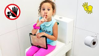 👋🏻 LIBRAS 👋 A menina que não queria fazer a tarefa de casa!! novelinha
