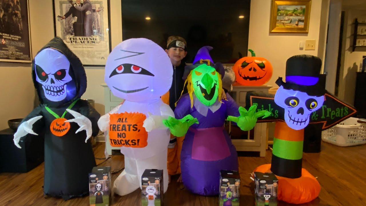 Ryan's 2021 New Halloween Inflatables
