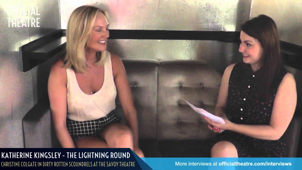 Katherine Kingsley Interview Dirty Rotten Scoundrels