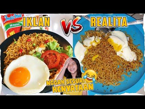 NGAKAK, BEGINI IKLAN VS REALITA DI INDONESIA