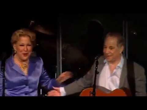 Bette Midler & Paul Simon - Performance at the CHF Gala (2011)