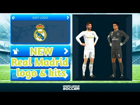 How To Import Real Madrid Logo and Kits In Dream league soccer 2018!!!.