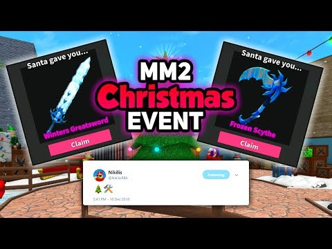 Lets Talk About.. CHRISTMAS UPDATE 2018 (ROBLOX Murder Mystery 2)