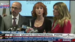 THIS IS A WOMAN THING: Kathy Griffin Feels Male Comedian Wouldn't Face Backlash for Trump Photo FNN