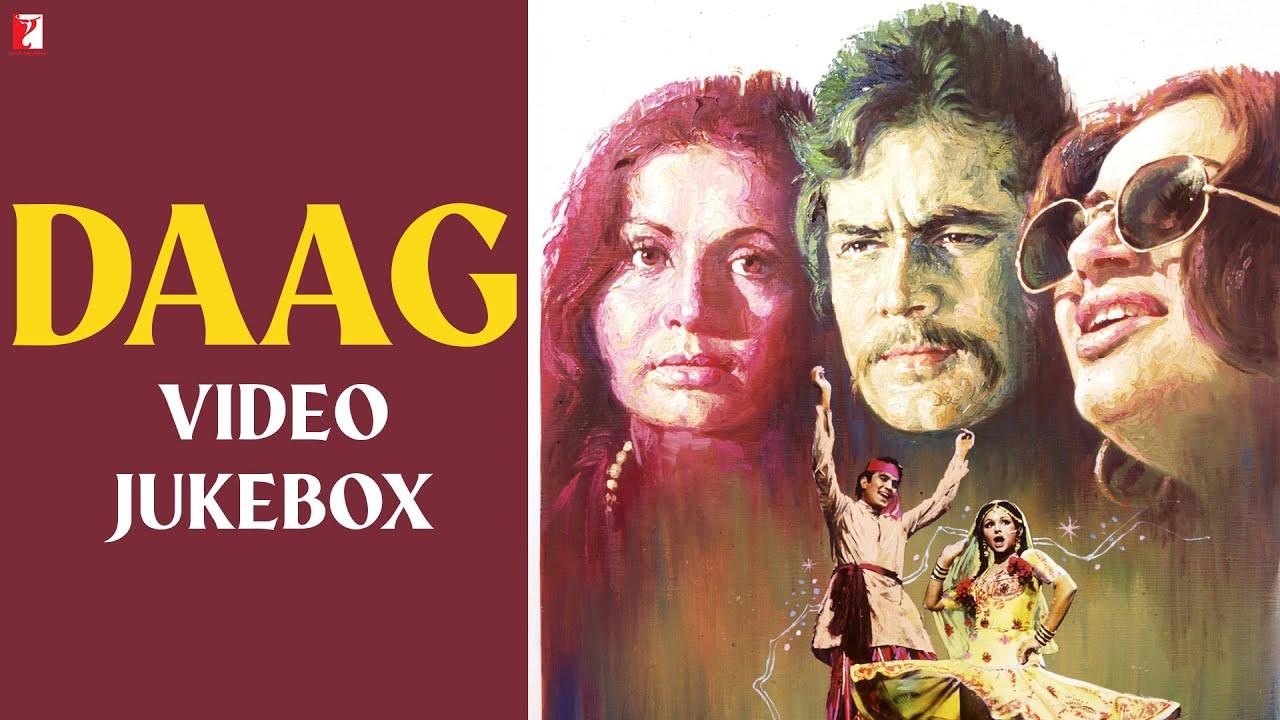 Daag | Video Jukebox | Rajesh Khanna, Sharmila Tagore, Rakhee | Laxmikant-Pyarelal | Sahir Ludhianvi