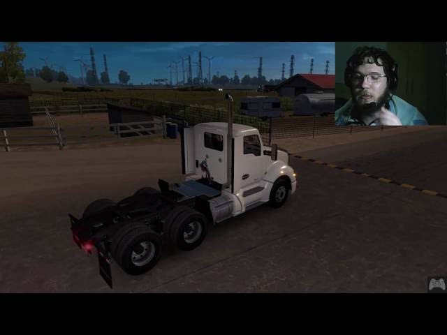 American Truck Simulator #12 gameplay com Logitech G29 + Face Cam