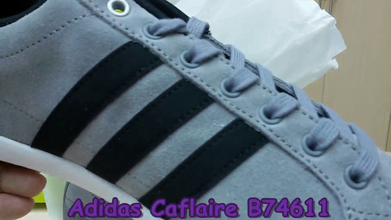 online store 8fc74 9a7dd Unboxing Review sneakers Adidas Caflaire B74611