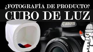 Cubo de luz para fotografía de producto