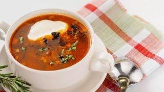 Сельский суп солянка | рецепты супов | Пожрать шоу