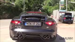 JAGUAR F TYPE COUPE' R - AMAZING SOUND AND REVS ! TEST DRIVE