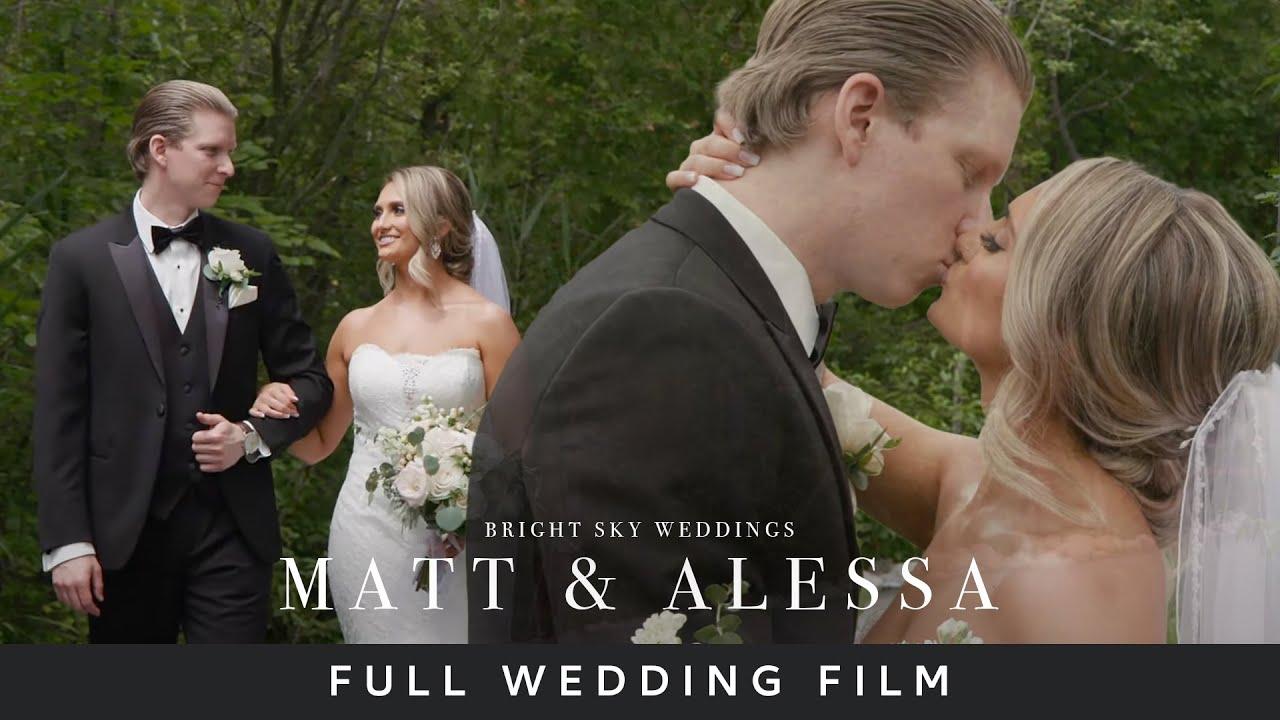 Matt & Alessa's Wedding Film - Whistle Bear Golf Course in Cambridge, Ontario