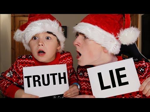 2 TRUTHS, 1 LIE WITH LITTLE BROTHER!