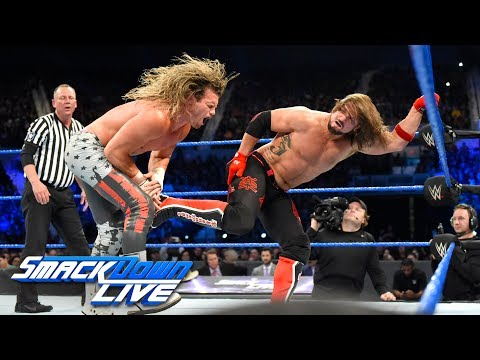 AJ Styles vs. Dolph Ziggler: SmackDown LIVE, June 6, 2017