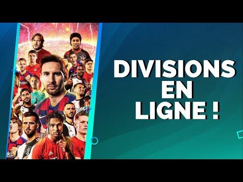 PES 2020 : Divisions en ligne !