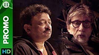 Amitabh bachchan tells rgv not to ask him stupid questions | #rgvcrossessarkar