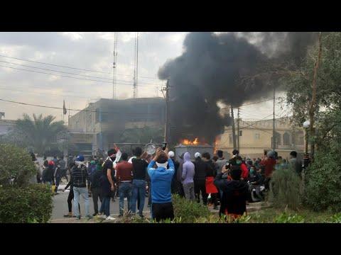Dozens of Iraqi protesters killed in crackdown