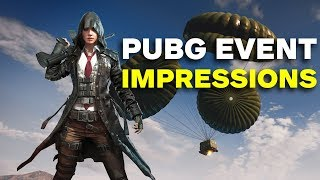 PUBG: First Impressions of the Metal Rain Event