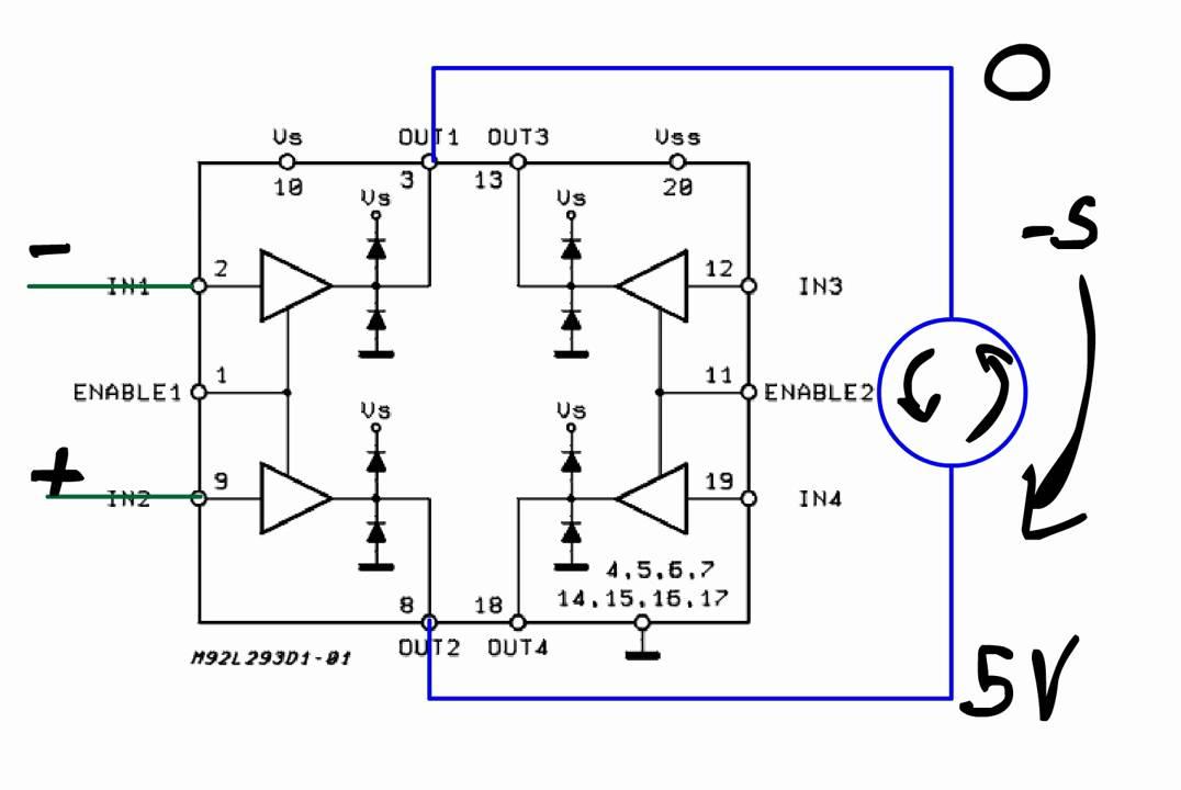 Funcionamiento y conexion de L293D on