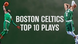 Boston Celtics Top 10 Plays from 2018 Playoffs