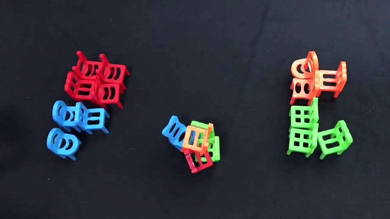 Balancing Chairs Game