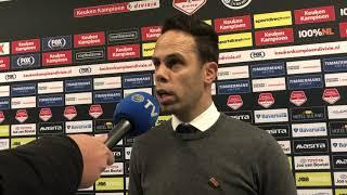 Erik van der Ven na afloop van FC Den Bosch-Roda JC Kerkrade
