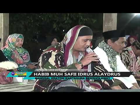 HABIB MUH Live BANGSAL KERATON KARTASURA BERSHOLAWAT 300 IBU IBU PENABUH REBANA 2018