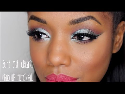 soft cut crease makeup tutorial  ellarie  youtube